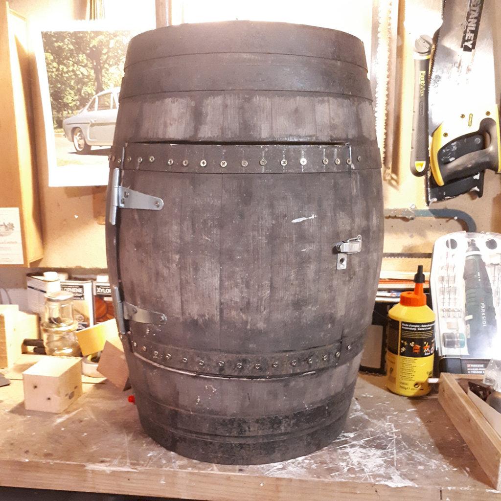 Fabriquer une fontaine à punch avec un tonneau