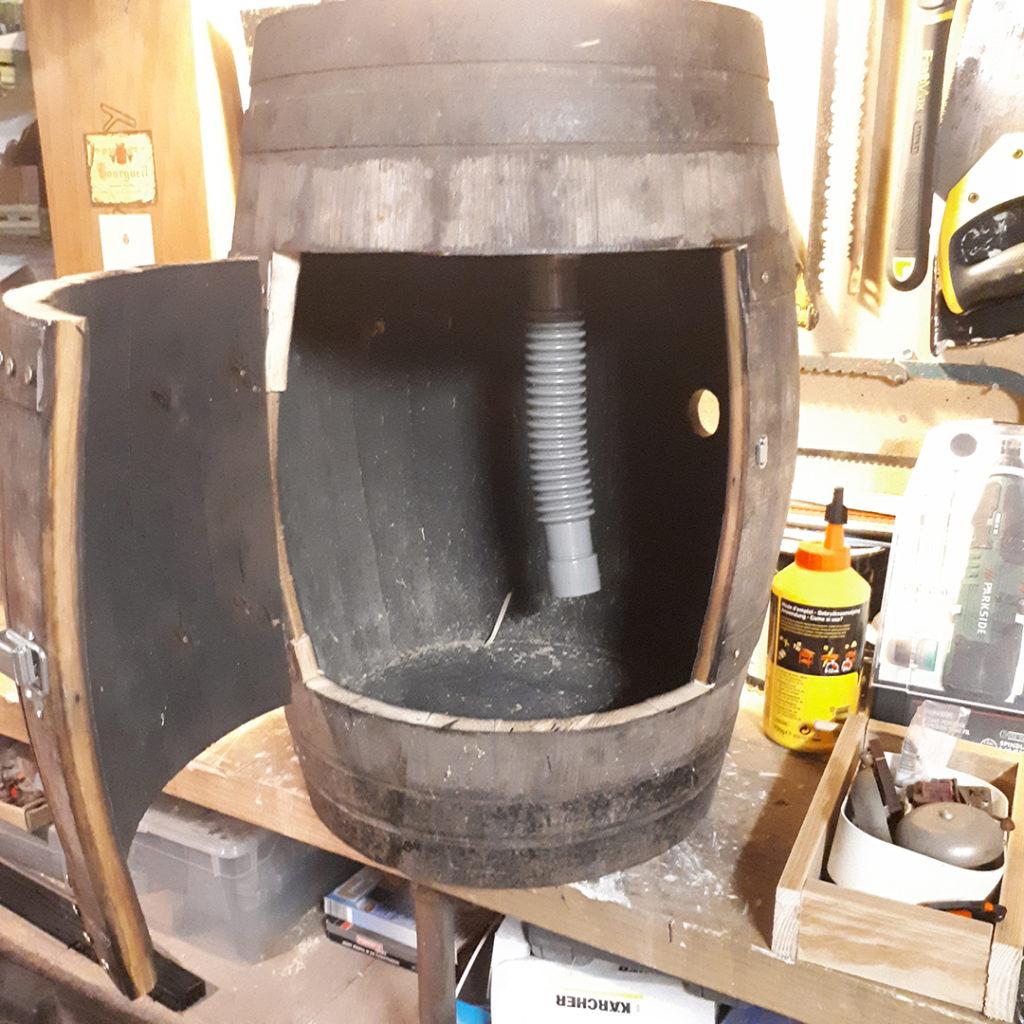 Fabriquer une fontaine à punch à partir d'un tonneau