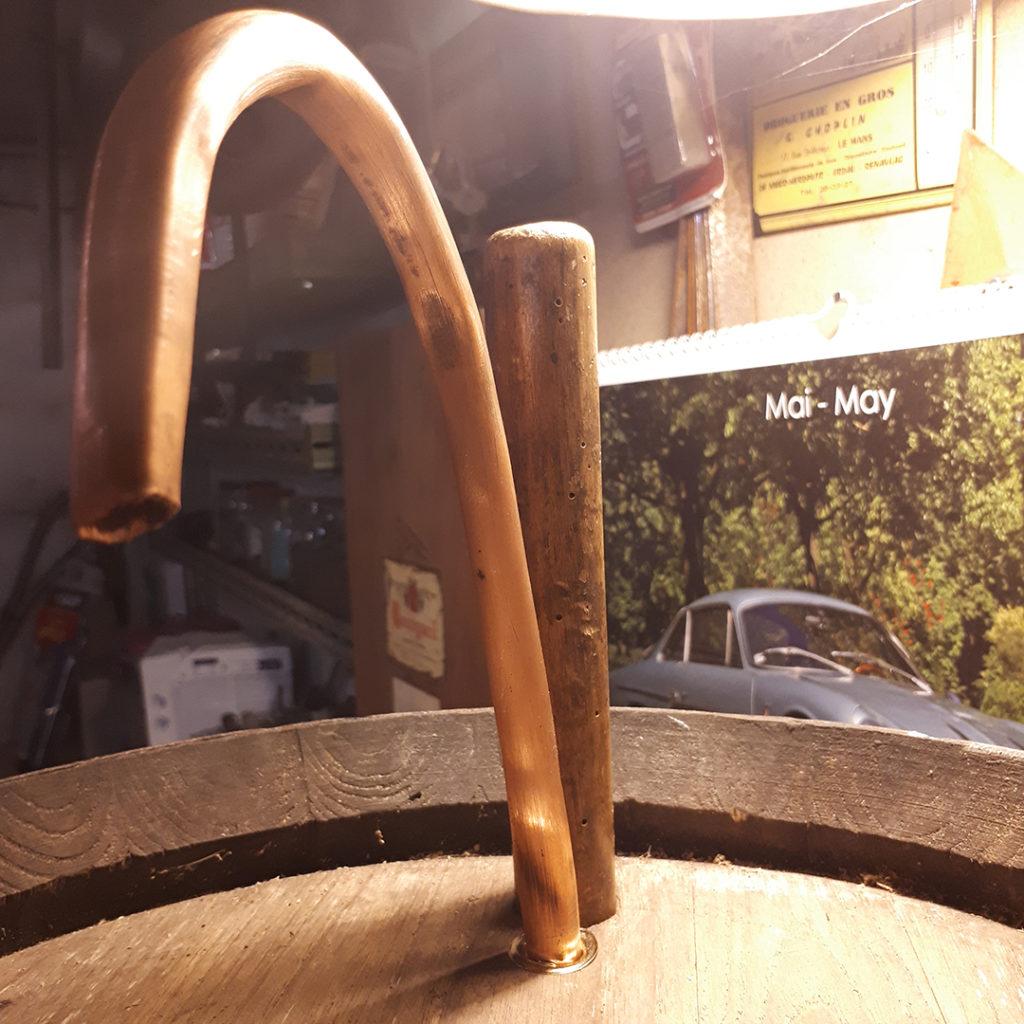 Robinet de fontaine à punch tuyau de cuivre